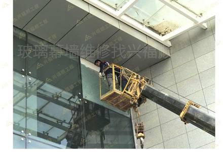 钢化玻璃安装案例